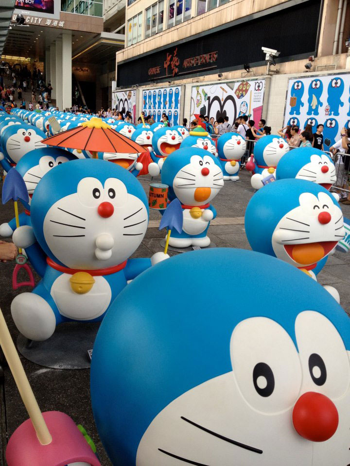 Doraemon Hong Kong Harbour City