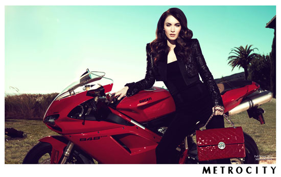 Megan Fox Korean Metrocity handbag