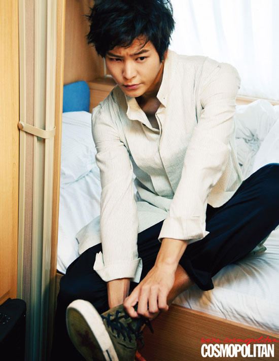 Joo Won Cosmopolitan Korean Magazine