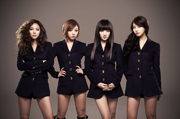 Korean pop group Miss A picture