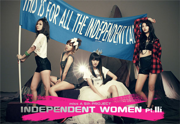 Miss A Independent Women Part III