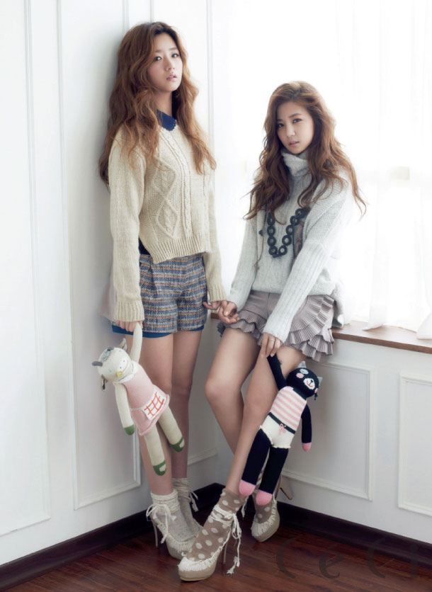 A Pink Korean Ceci Magazine