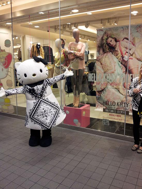 Hello Kitty Forever 21 Tokyo Shibuya Store