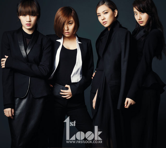 Miss A Korean First Look Magazine