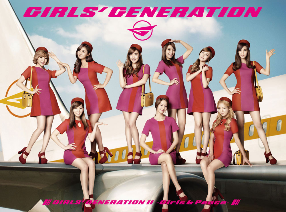 SNSD Girls Peace Japan