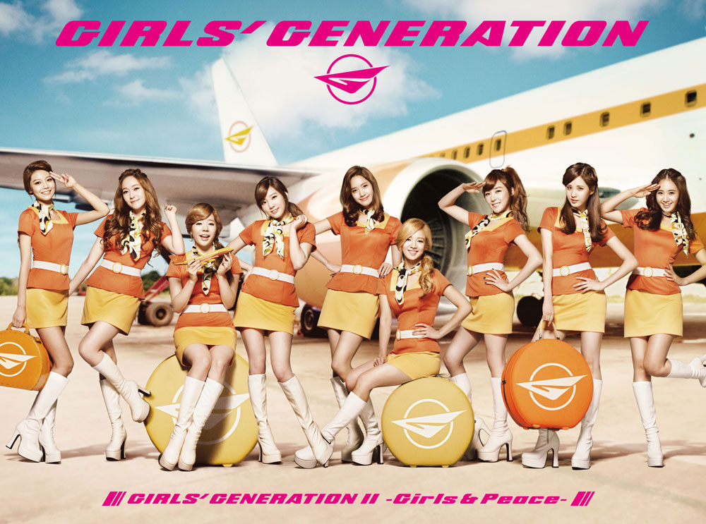 Girls' Generation Peace Japan