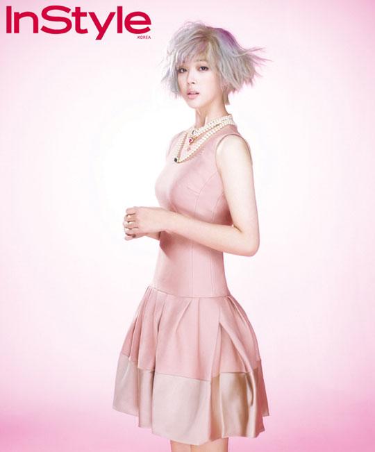 Fx Sulli Korean InStyle Magazine