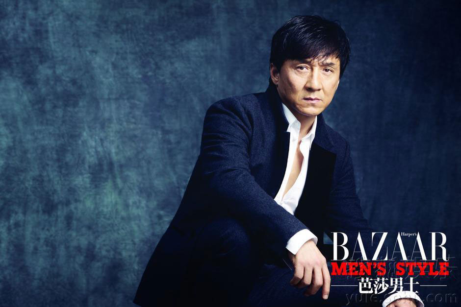 Jackie Chan Harpers Bazaar Chinese Magazine