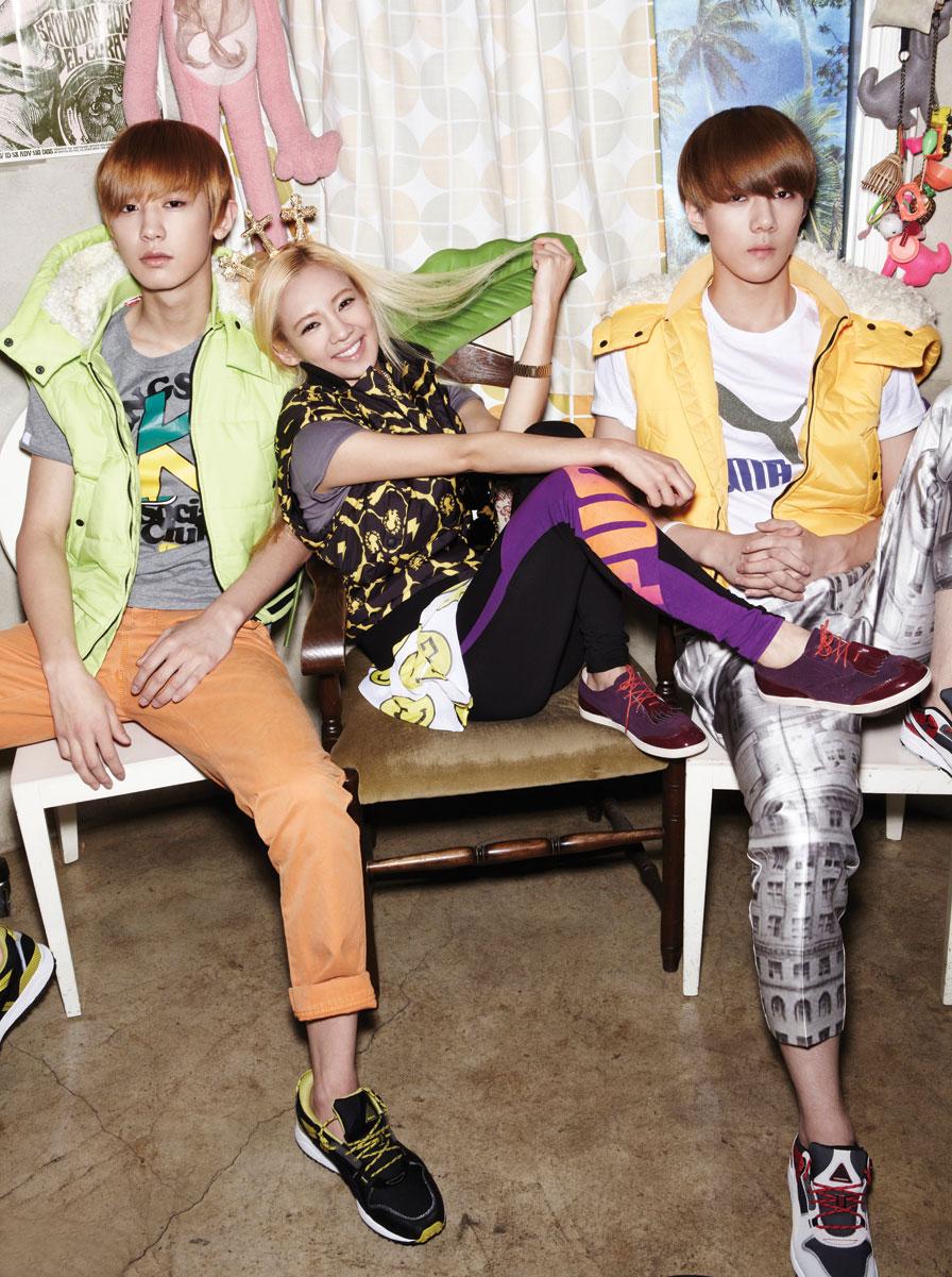 SNSD Hyoyeon EXO OhBoy Magazine
