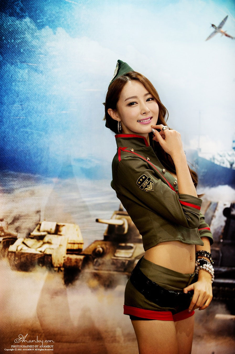 Eun Bin G-STAR Korea 2012 World of Tanks