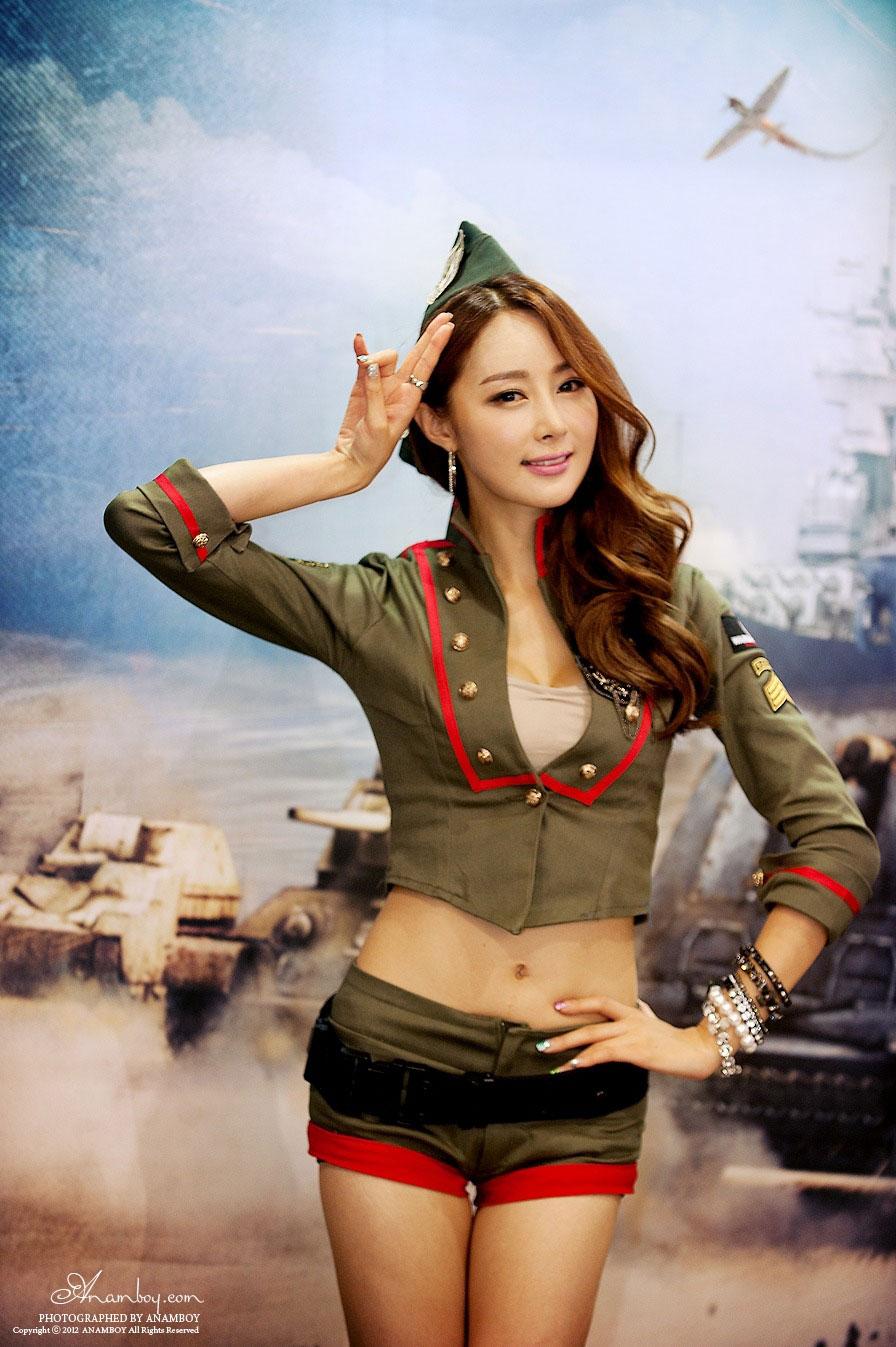 Eun Bin G-STAR Korea 2012 World of Tanks