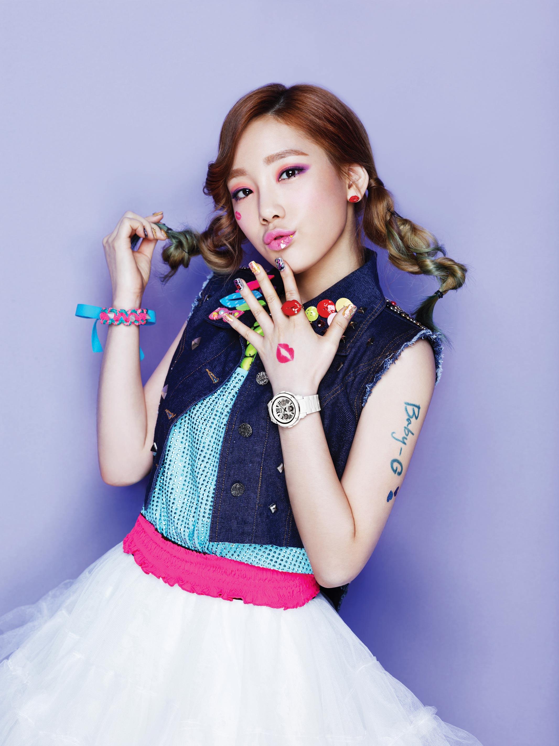 SNSD Taeyeon Casio Baby-G Kiss Me 2013