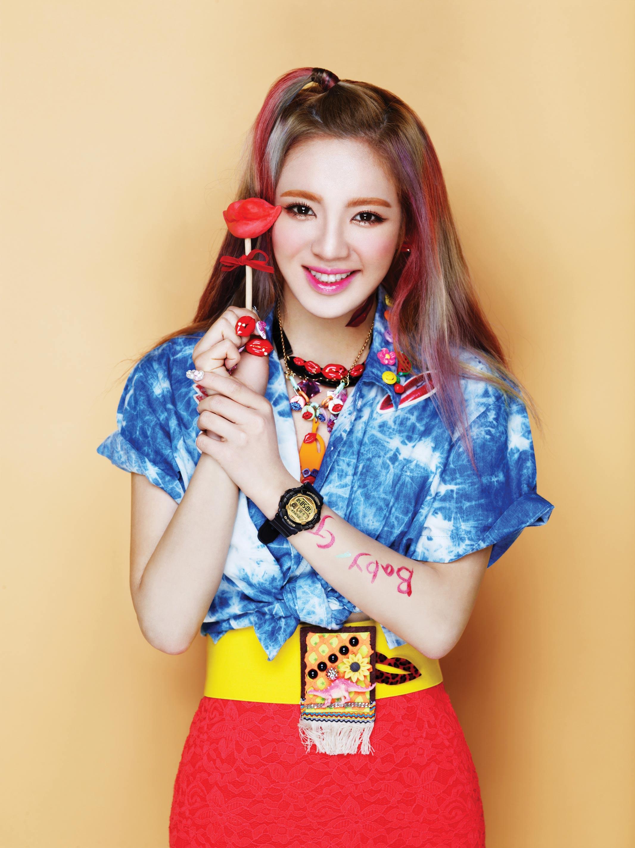 SNSD Hyoyeon Casio Baby-G Kiss Me 2013