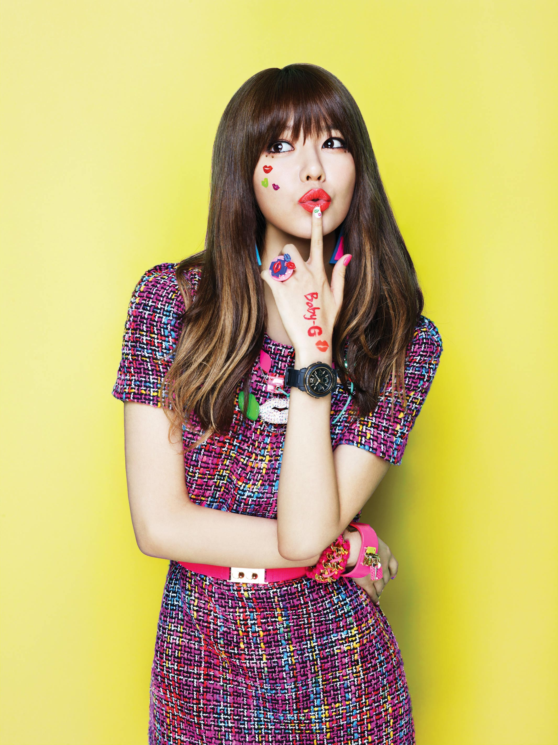 SNSD Sooyoung Casio Baby-G Kiss Me 2013