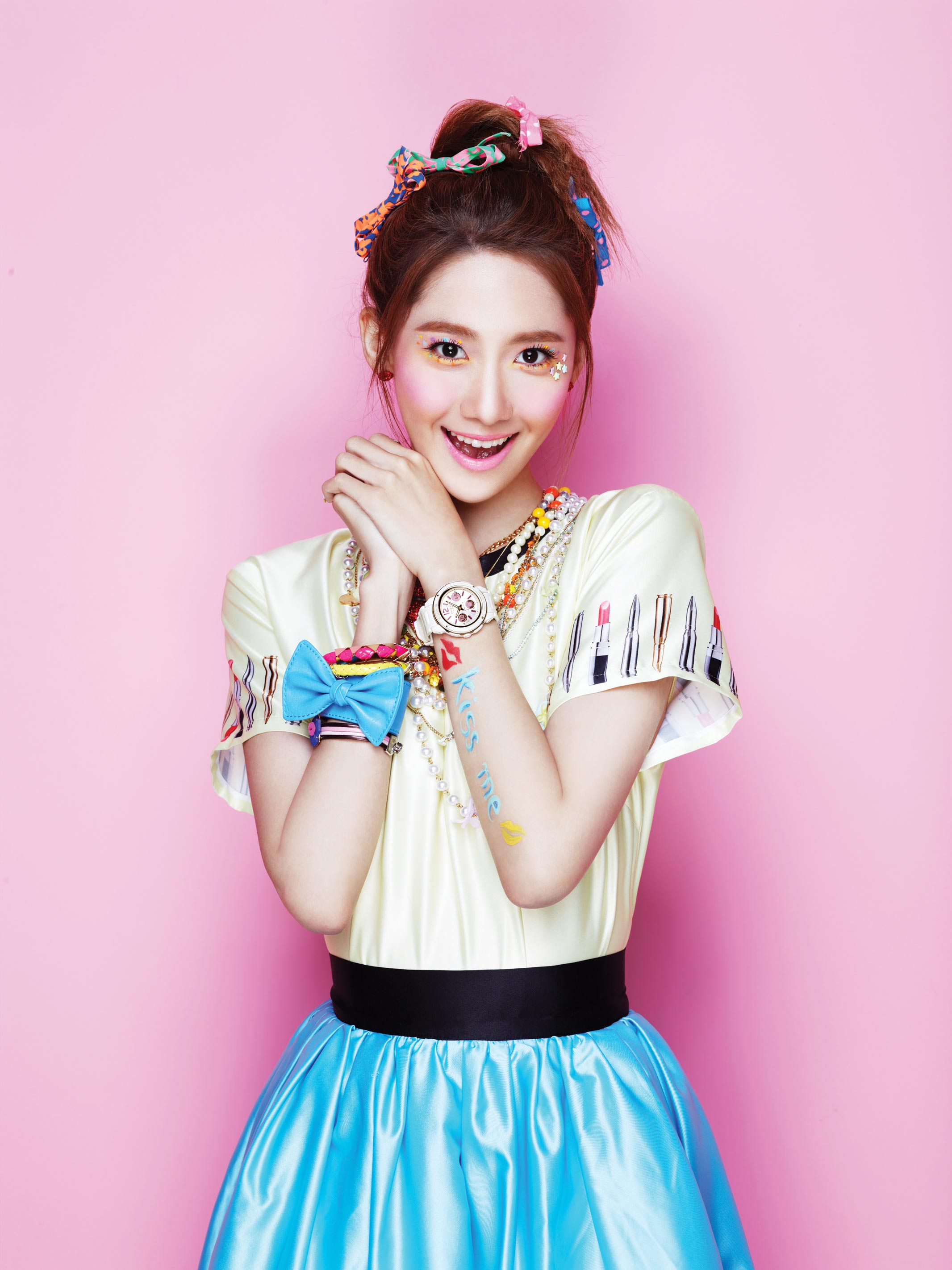 SNSD Yoona Casio Baby-G Kiss Me 2013