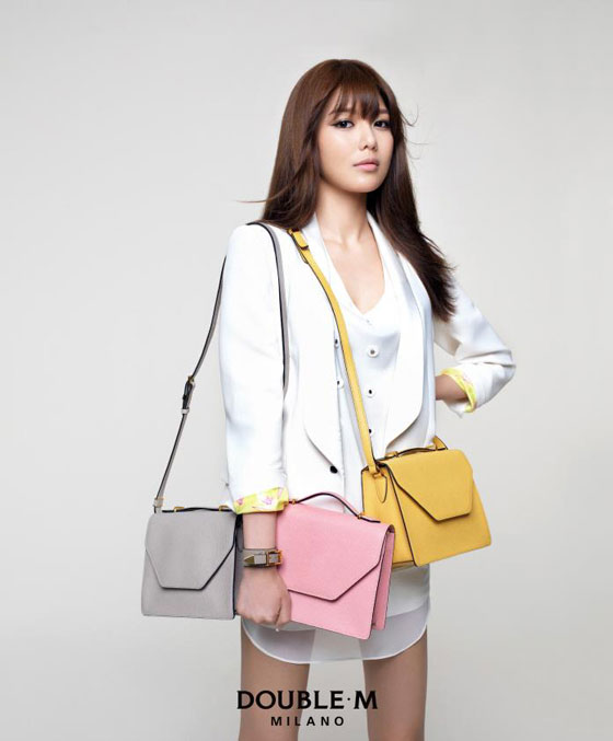 SNSD Sooyoung Korean Doublem handbag