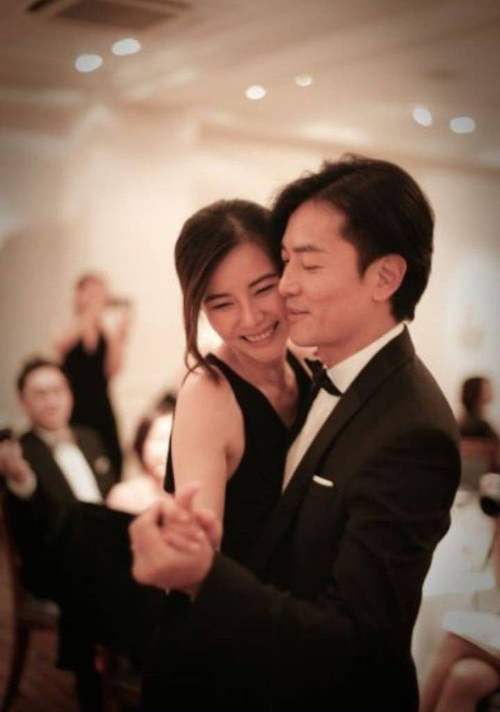 Ekin Cheng and Yoyo Mung wedding photo