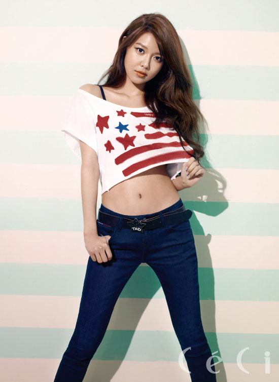 Girls Generation Sooyoung Ceci Tommy Hilfiger