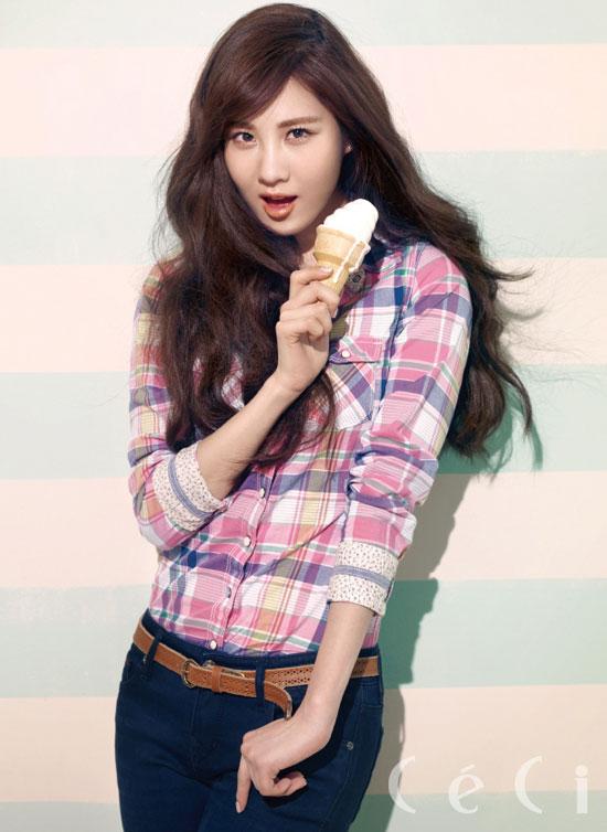 Girls Generation Seohyun Ceci Tommy Hilfiger