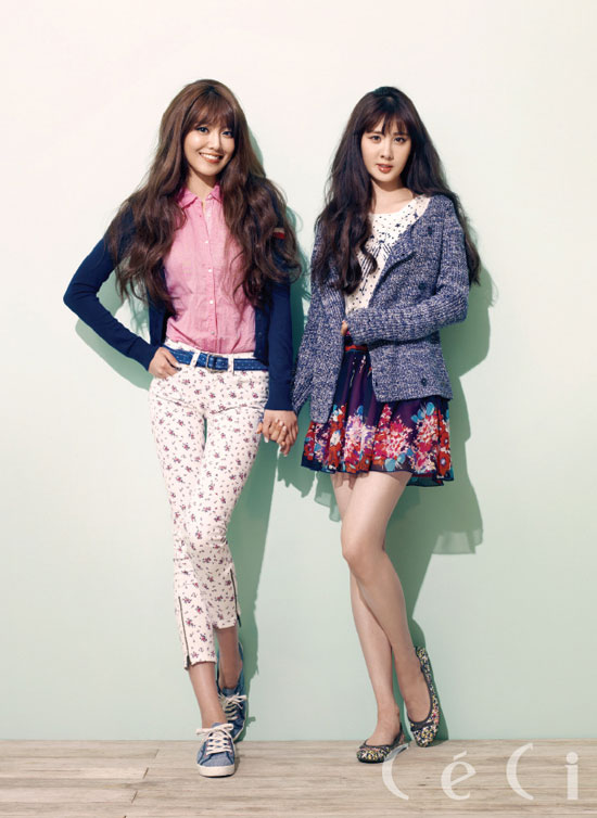 SNSD Seohyun Sooyoung Ceci Tommy Hilfiger