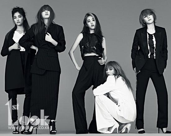 4Minute Korean 1st Look Magazine