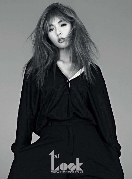 4Minute Hyuna 1st Look Magazine