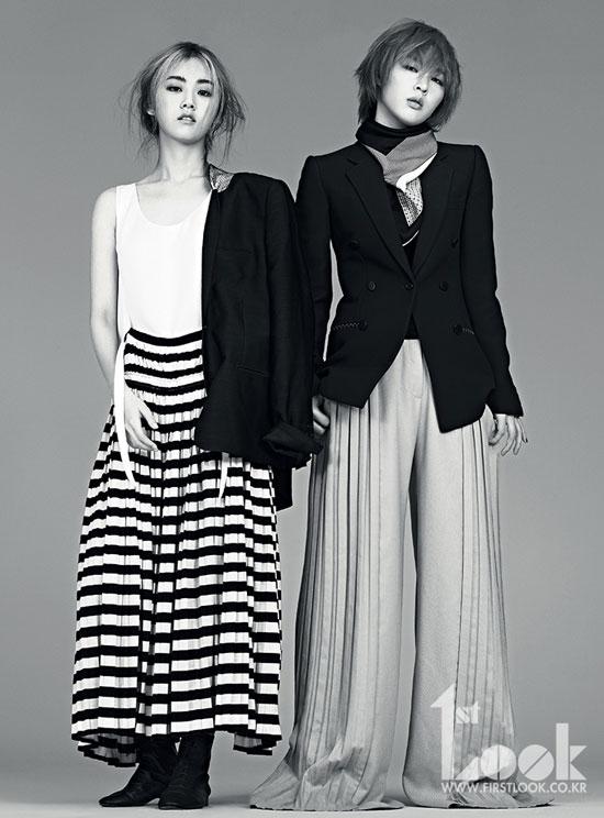 4Minute 2Yoon 1st Look Magazine