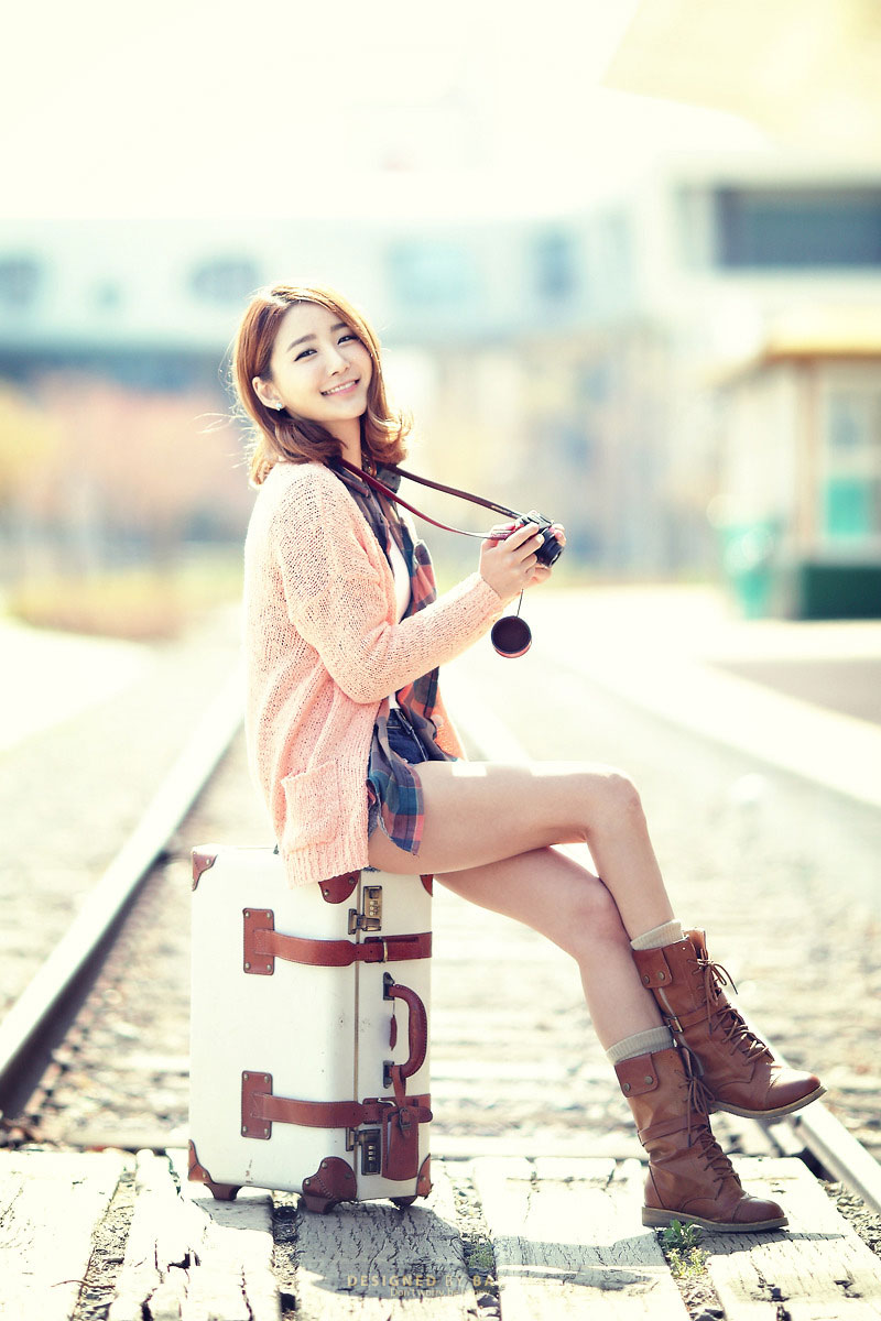 Bang Eun Young portrait photoshot