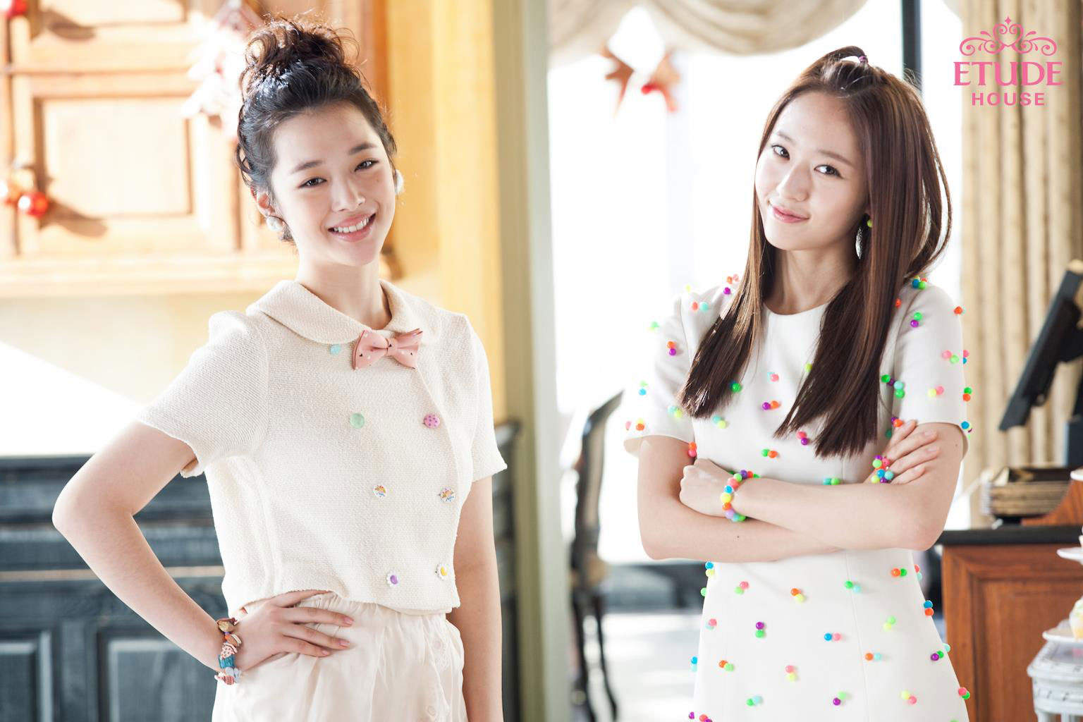 Fx Sulli and Krystal Etude Sweet Recipe