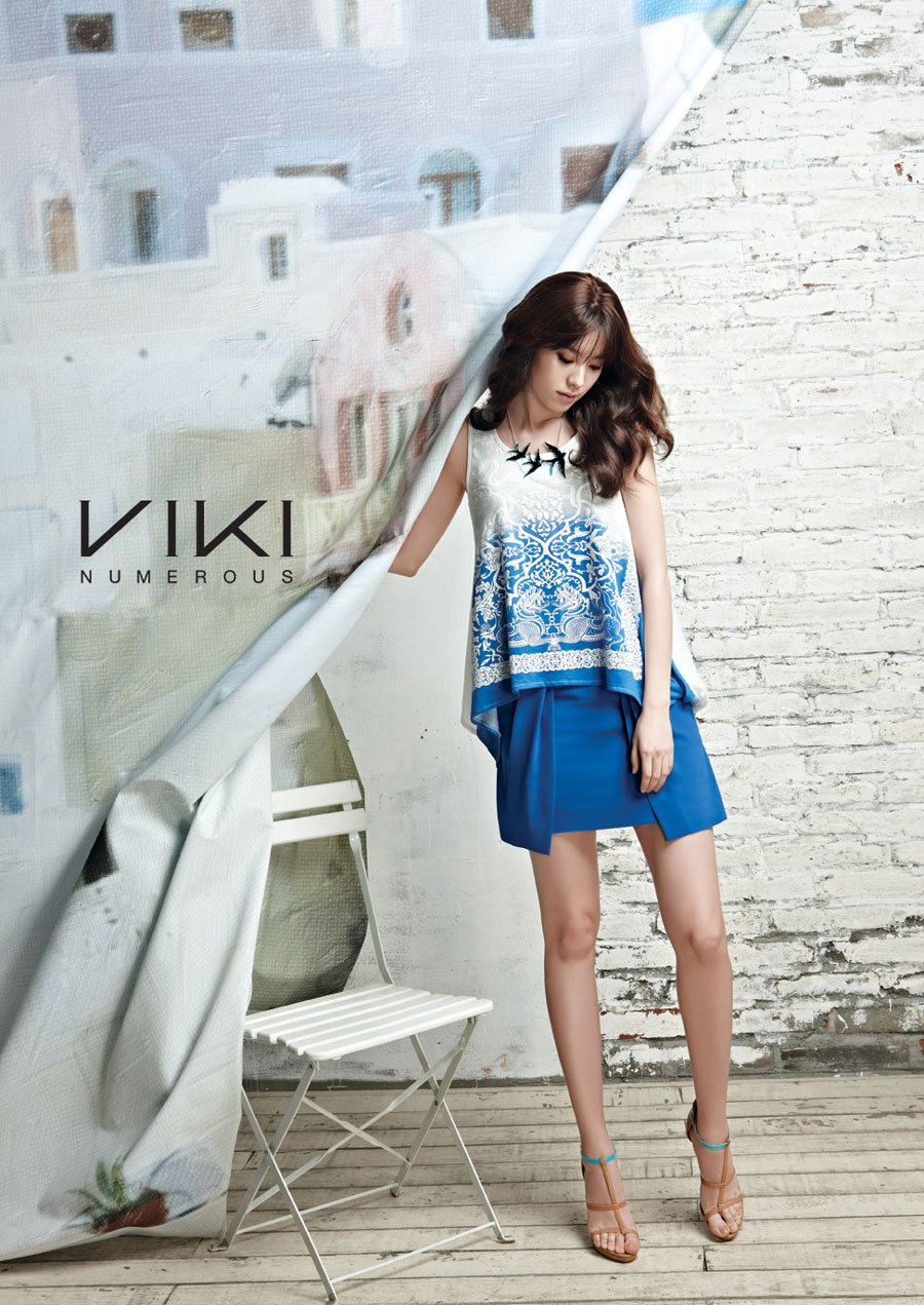 Han Hyo Joo Viki fashion summer 2013
