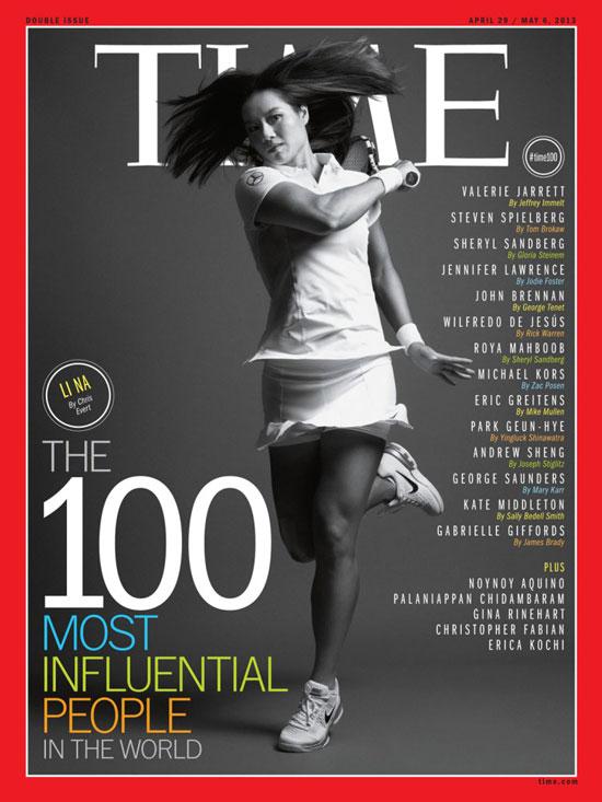 Li Na Time Magazine cover