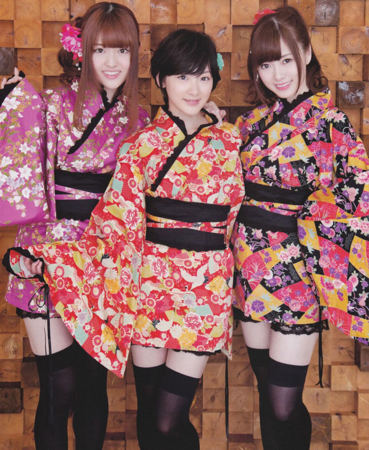 Nogizaka46 Japanese samurai girl cosplay