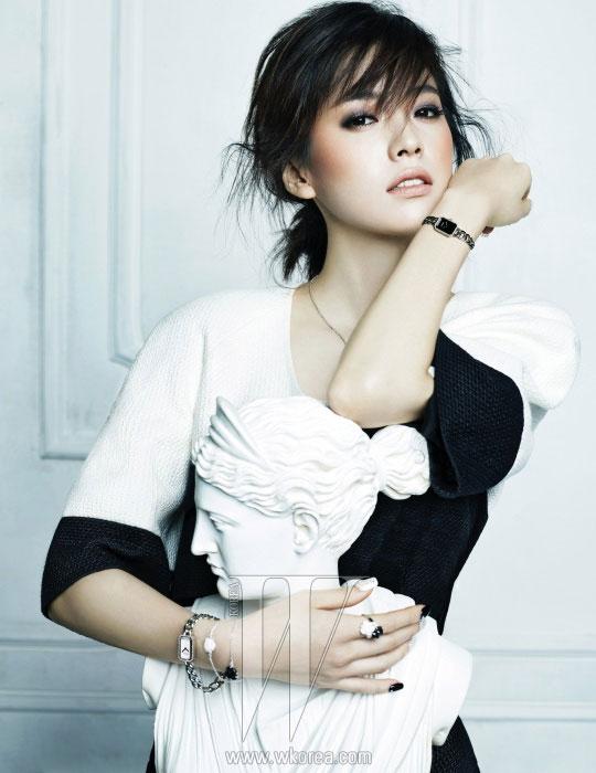 Han Hyo Joo Chanel Korean W Magazine