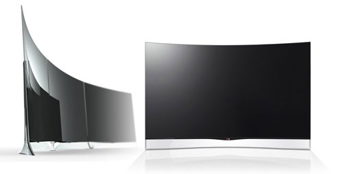 LG curved OLED TV world first