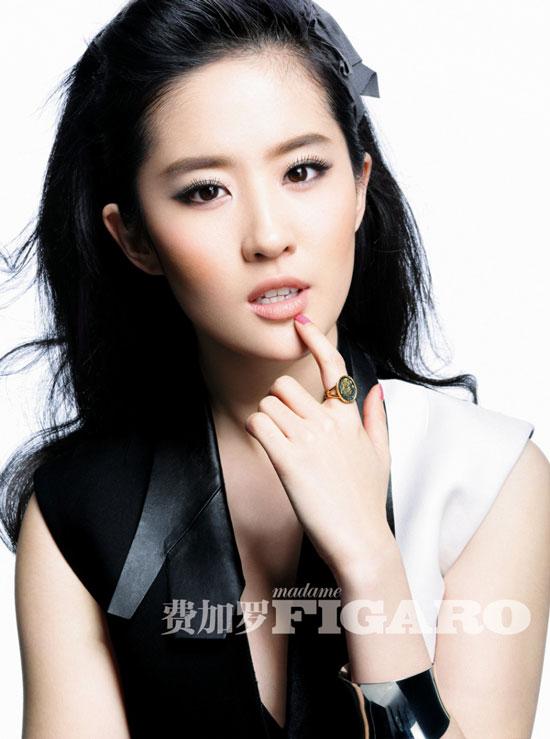 Liu Yifei Chinese Madame Figaro Magazine