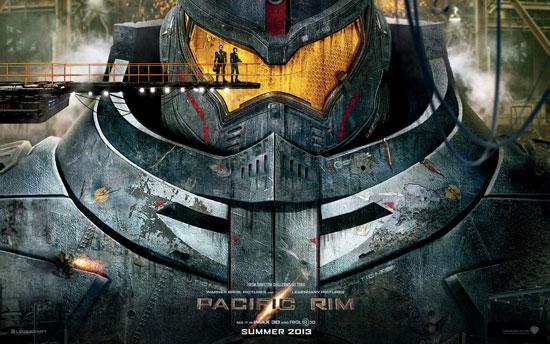 Pacific Rim mecha monster movie