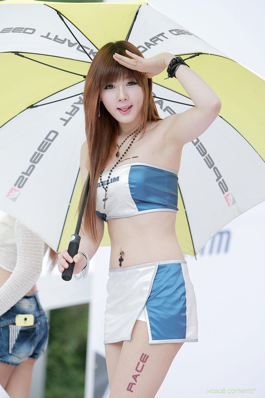 Hwang Mi-hee Korea Scooter Race Championship