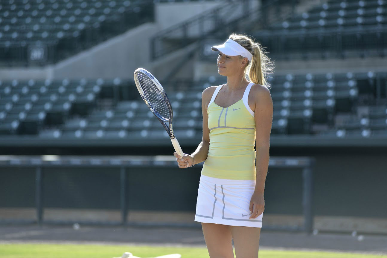 Maria Sharapova Head Tennis Graphene racquets