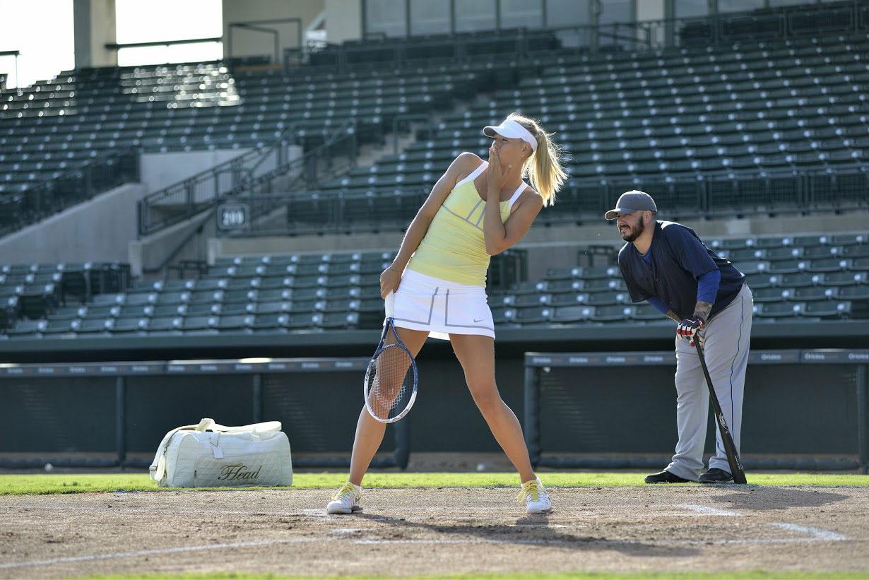 Maria Sharapova Head Tennis Graphene racquets
