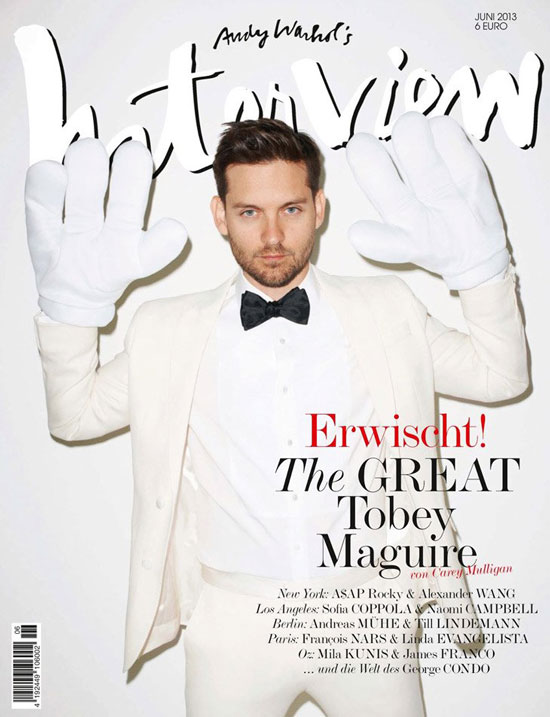 Tobey Maguire German Interview Magazine