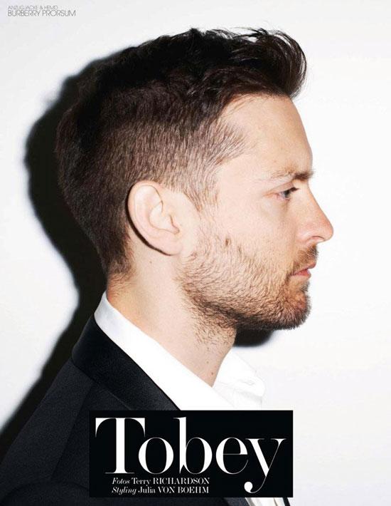 Tobey Maguire German Interview Magazine