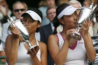Hsieh Suwei Peng Shuai Wimbledon 2013