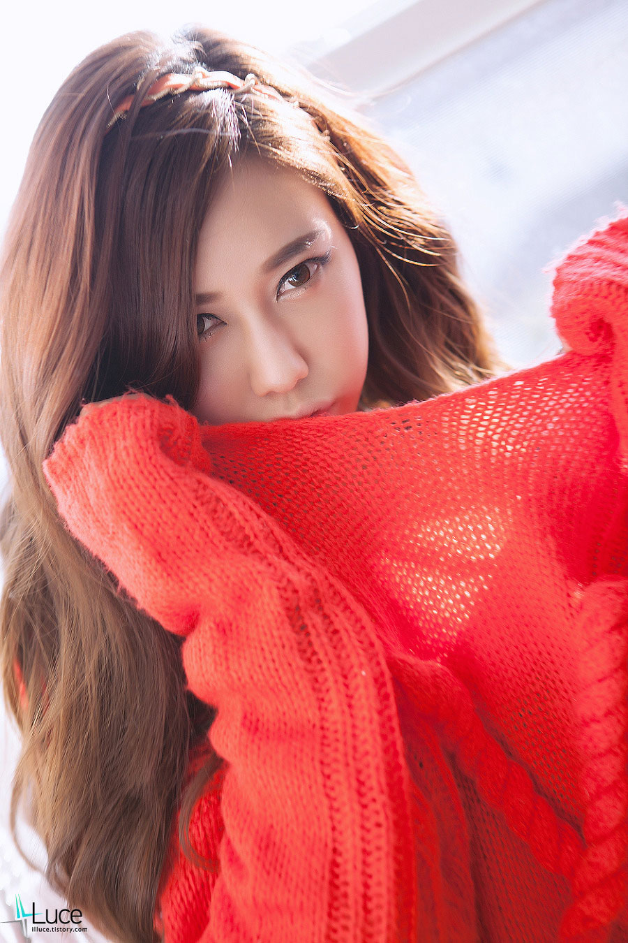 Korean model Kim Ha-yul portrait photoshoot