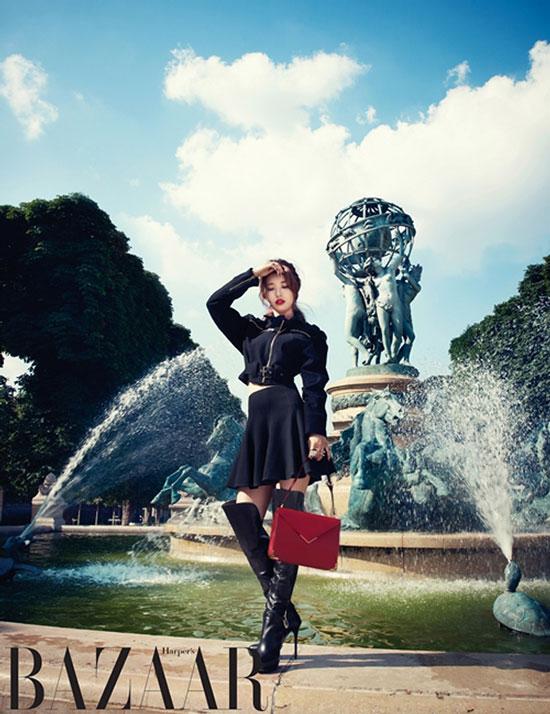 Miss A Suzy Harper's Bazaar Paris