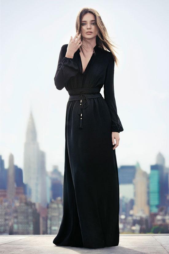 Miranda Kerr Mango Spanish fashion brand