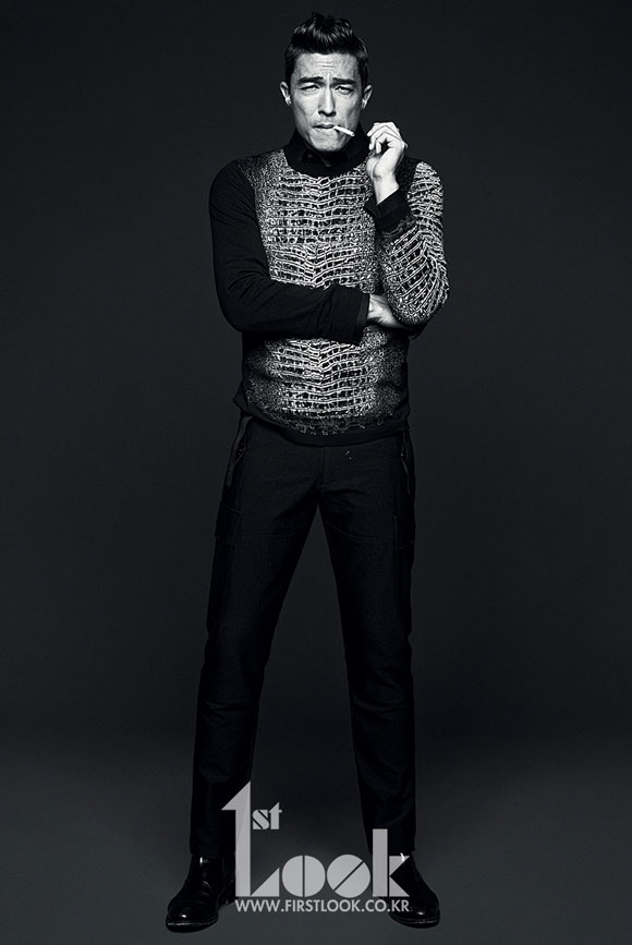 Daniel Henney Korean 1st Look Magazine