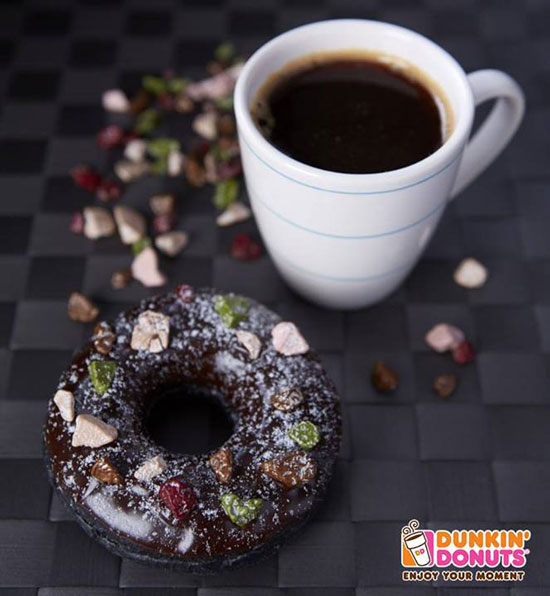 Dunkin Charcoal Donuts Thailand