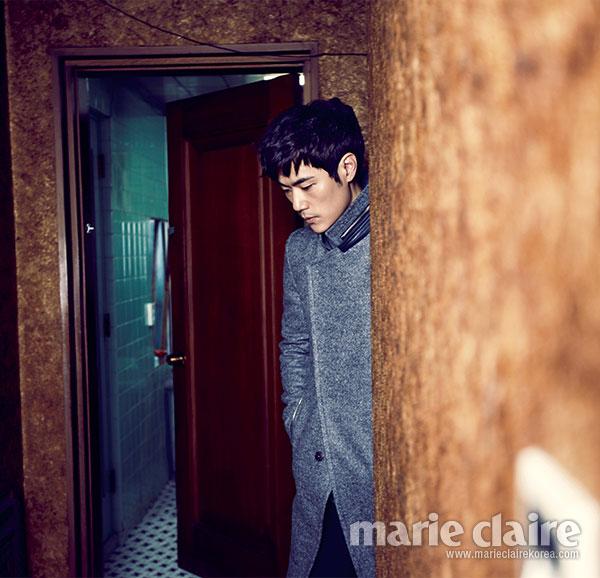 Kim Kang Woo Korean Marie Claire Magazine