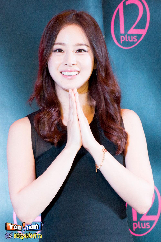 Kim Tae Hee promotes 12Plus Colorista Thailand