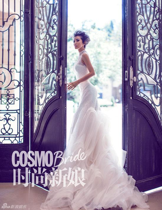Li Bingbing Chinese Cosmo Bride Magazine